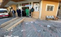شاهد: إصابات إثر مواجهات مع الشرطة في محيط المستشفى الجزائري بخانيونس