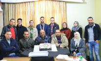 شاهد: وكالة خبر تُوقد شمعتها السادسة بحفل في مقرها بغزّة