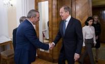 الشيخ يلتقي وزير الخارجية الروسي