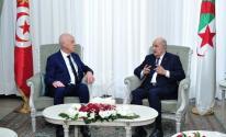 الرئيس الجزائري والتونسي