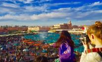 رقم قياسي السياح الذين زاروا