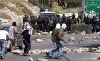 شاهد: هذا ما طلبه جنود الاحتلال من المتظاهرين الرافضين لصفقة القرن في الضفة!!