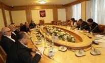 شاهد: تفاصيل لقاء هنية مع رئيس لجنة العلاقات الدولية في مجلس الدوما الروسي