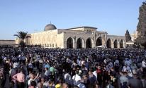 الدعوة لشد الرحال إلى المسجد الأقصى  وصد اقتحامات المستوطنين
