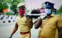 بالفيديو: رجال شرطة يلجأون لـ
