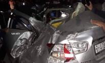 شاهد: إصابات في حادث سير مروع بدير البلح وسط قطاع غزة