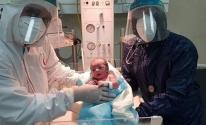شاهد: ولادة أول طفل لمصابة بفيروس كورونا في فلسطين