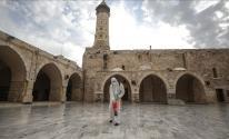 إغلاق مسجد بغزة