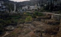 مدرجات جنوب القدس