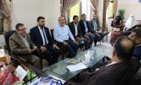 غزة: مجلس بلدية المغازي الجديد يتسلم مهامه