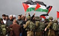 اشتباك المواطنين مع جنود الاحتلال
