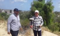 غزة: الاقتصاد وسلطة الأراضي تجريان مسحاً ميدانياً لمقالع الرمال