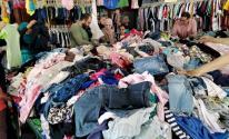 الاقتصاد بغزة تسمح بإدخال الملابس المستخدمة وفق الإجراءات الوقائية
