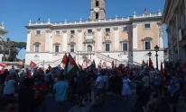 مظاهرات في إيطاليا رفضًا لخطة الضم
