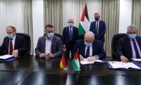 توقيع اتفاقية دعم ألماني لقطاع الصرف الصحي في سلفيت