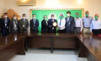 جوال و بلدية عبسان الكبيرة يفتتحان قاعة تدريب و احتضان الأعمال في البلدية