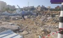الاحتلال يهدم مركز لفحص كورونا في الخليل