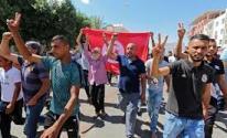 بالصور: تونس .. إضراب في مواقع لإنتاج النفط
