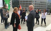 اعتصام في أوسلو رفضًا لقرار الضم الإسرائيلي