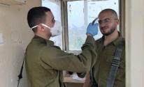 جنود الاحتلال في الحجر الصحي