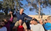 أهالي برطعة يحتفلون بتحرر الأسير أمجد قبها