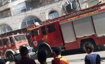 إصابة 5 أشخاص في حريق نشب بالقدس