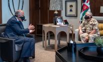 وزير الخارجية المصري والعاهل الاردني