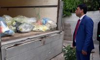الشرطة بغزة تتلف كمية من المواد مخدّرة