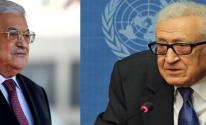 عباس والاخضر الابراهيمي