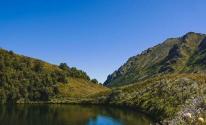شاهدوا: اختفاء مفاجئ لبحيرة جبلية قرب منتجع سوتشي الروسي