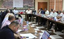 بالصور: الصحة والداخلية بغزة تعقدان اجتماعاً طارئاً لمناقشة آلية استقبال العالقين