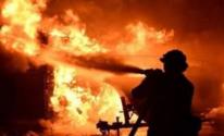 بالصور: حريق يلتهم طابقين بمجمع محاكم قنا بسبب عقب سيجارة في مصر