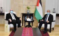 رئيس الوزراء يستقبل سفير مالطا برام الله