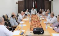 أبو الريش يترأس اجتماعًا بغزة لمناقشة ملف