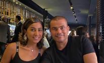 دينا الشربيني و عمرو دياب