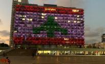 لبنانيون يرفضون إنارة علمهم على مبنى بلدية