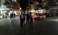 شاهد: الأجهزة الأمنية تبدأ بفرض حظر التجوال في قطاع غزّة
