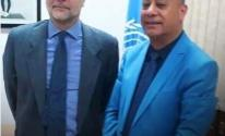 بالصور: تفاصيل لقاء أبو هولي مع مدير شؤون الأونروا في لبنان
