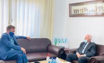 تفاصيل اجتماع الأحمد مع ممثل الاتحاد الأوروبي برام الله
