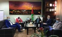 الوفد الوزاري يغادر قطاع غزة عبر حاجز بيت حانون