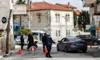 الإغلاق الشامل لمواجهة كورونا في رام الله