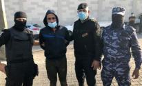 داخلية غزة توثق لحظة اعتقال المتهم بقتل جبر القيق في الزوايدة
