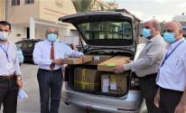 الصحة بغزة تتلقى أجهزة طبية لعلاج مرضى الجهاز التنفسي وكورونا
