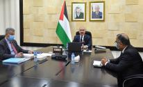 اجتماع مجلس الوزراء برئاسة محمد اشتية