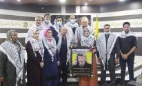 بالصور: لجنة المكاتب الحركية بساحة غزة تُكرم المعلمة أسماء مصطفى
