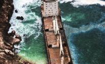 السفينة المهجورة في سلطنة عمان