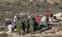 الاحتلال يدمّر خط مياه في مسافر يطا