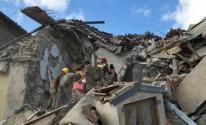 انهيار مبنى سكني في الاسكندرية