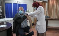 لقاح كورونا الجرعة الثانية غزة