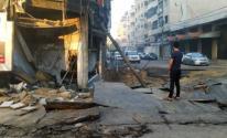 قصف شارع